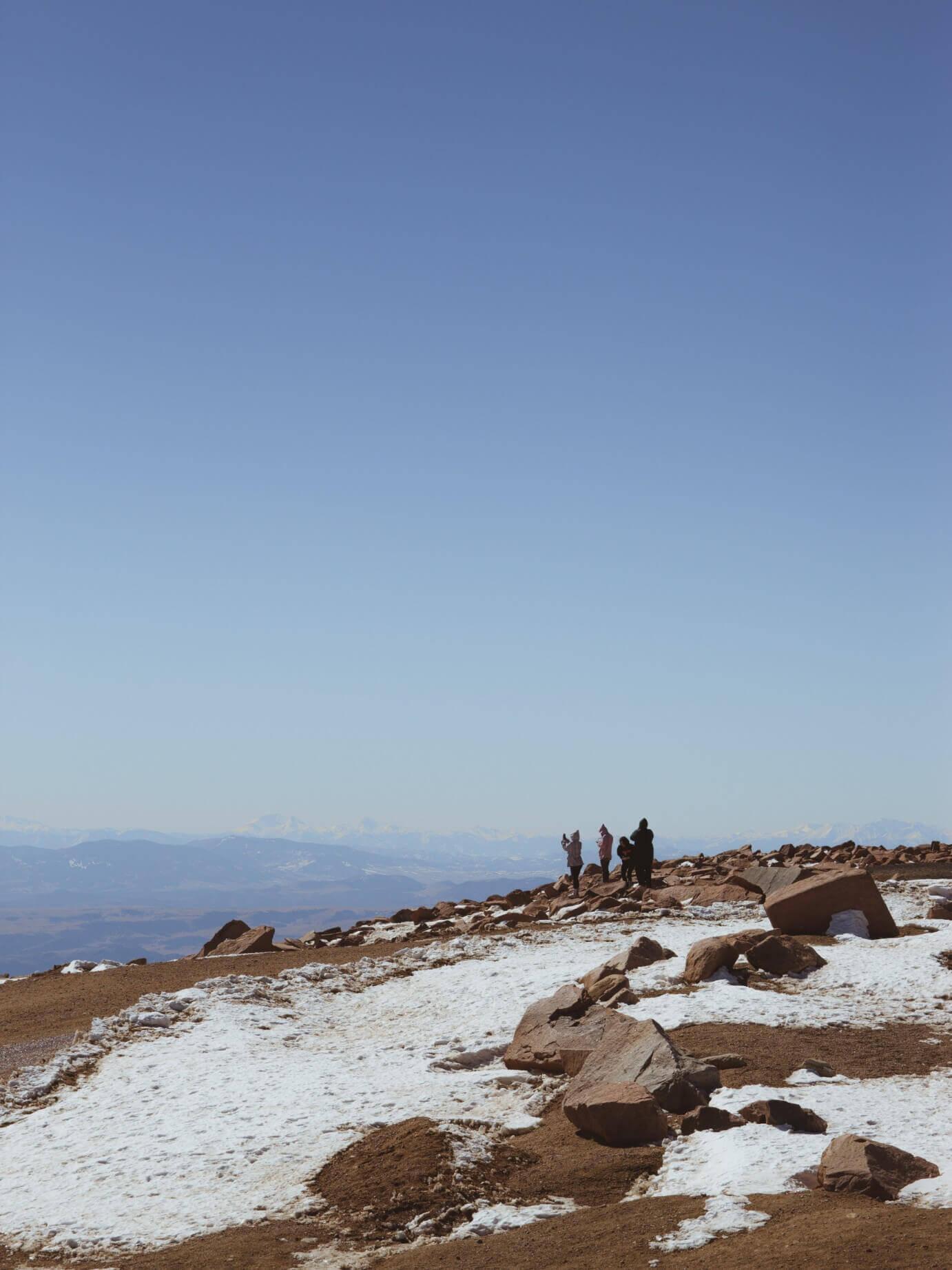 things to see in colorado pikes peak summit