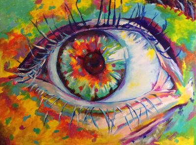 Eye of the Impressionist 18x24 Acrylic on Canvas by Taylor Wise