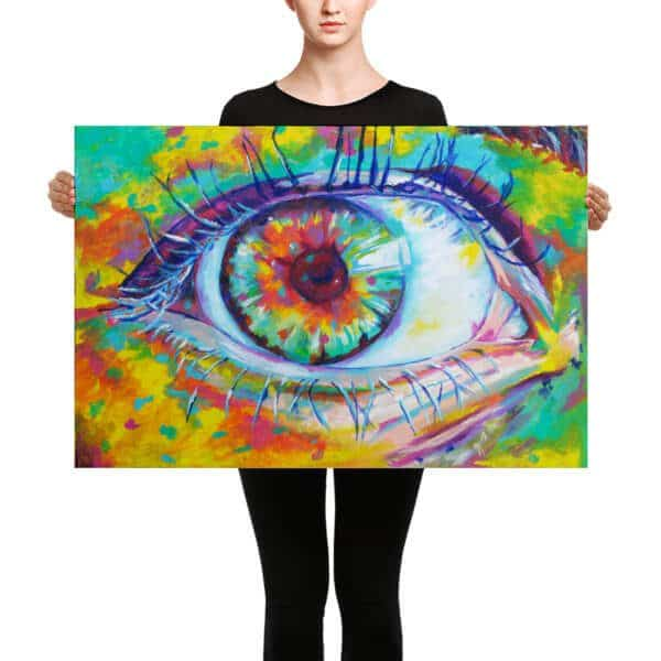 eye of the impressionist painting taylor wise art